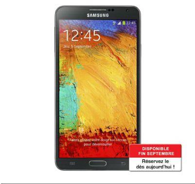 SAMSUNG Galaxy Note 3 Noir Téléphone portable sans abonnement prix promo Boulanger 749,00 € TTC