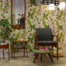 Johannes Andersen danskt nätt bord i teak med A-formade ben. 43x31x48 cm