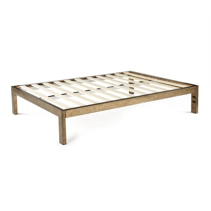 370 the frame gold brushed steel bed frame from keetsa ecofriendly mattresses