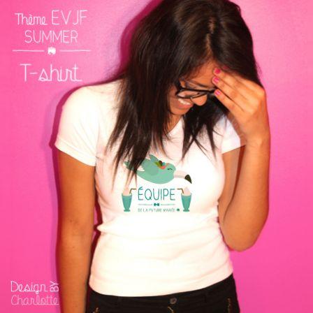 T-shirt EVJF Equipe Summer