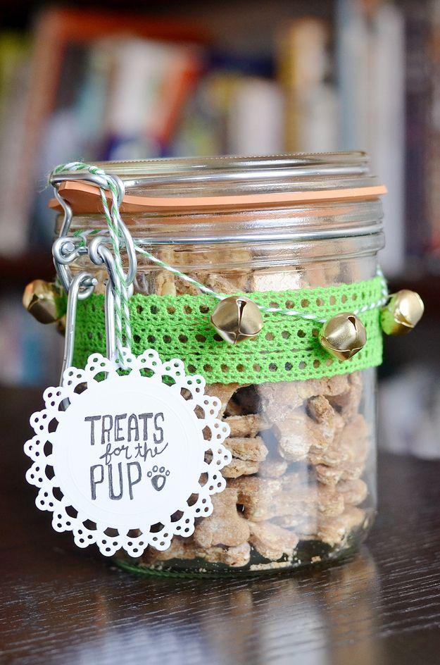 DIY gifting for your furry friend! How To Make Homemade Dog Treats. Walking in a winter woof-erland