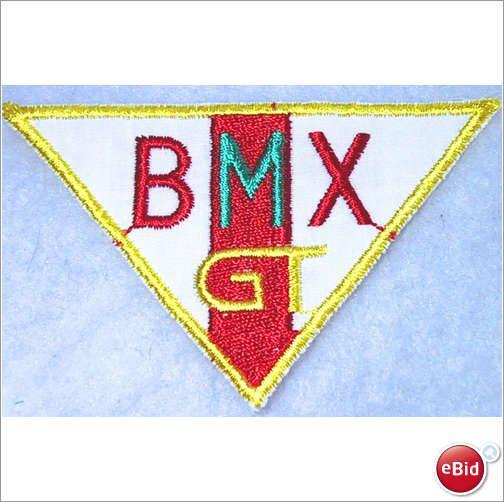 BMX GT motif, sew on patch, motifs lot 27 on eBid United Kingdom £1.00