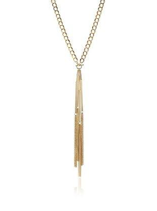 55% OFF Jules Smith Toggle Fringe Necklace