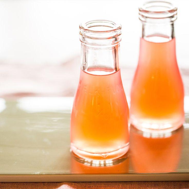 Rabarbersaft med vanille og citrongræs