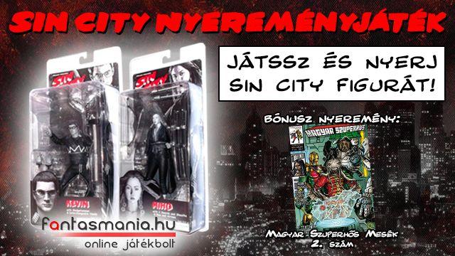 #SinCity #nyereményjáték: http://goo.gl/ZUFm1N
