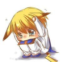 Omg! This is so cute! KuraPIKA. (Hunter X Hunter & Pokemon)