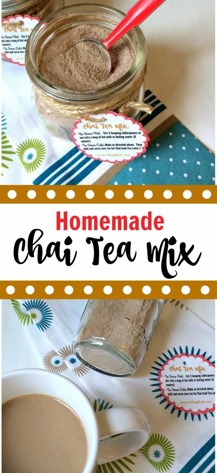 This Chai Tea Mix has all of those wonderful spices and when stirred into warmed…