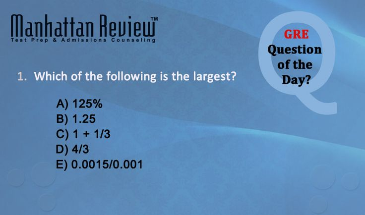 #Manhattan_Review #Question_of_the_day #GMAT , #GRE , #SAT ,#IELTS , #TOEFL #GRE_Sample_Questions #GRE_Questions #GRE_Tutorials #GRE_Exam_Practice_Test #GRE_Practice_Questions  Visits More on :- http://www.indiamr.com/FreeTests.aspx