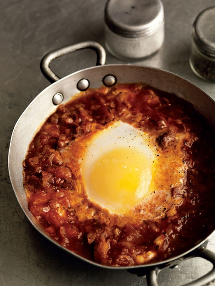 Portuguese baked breakfast eggs recipe from Mark Hix On Baking by Mark Hix   Cooked