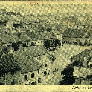 Sopron - Látkép az ősi Tűztoronyból