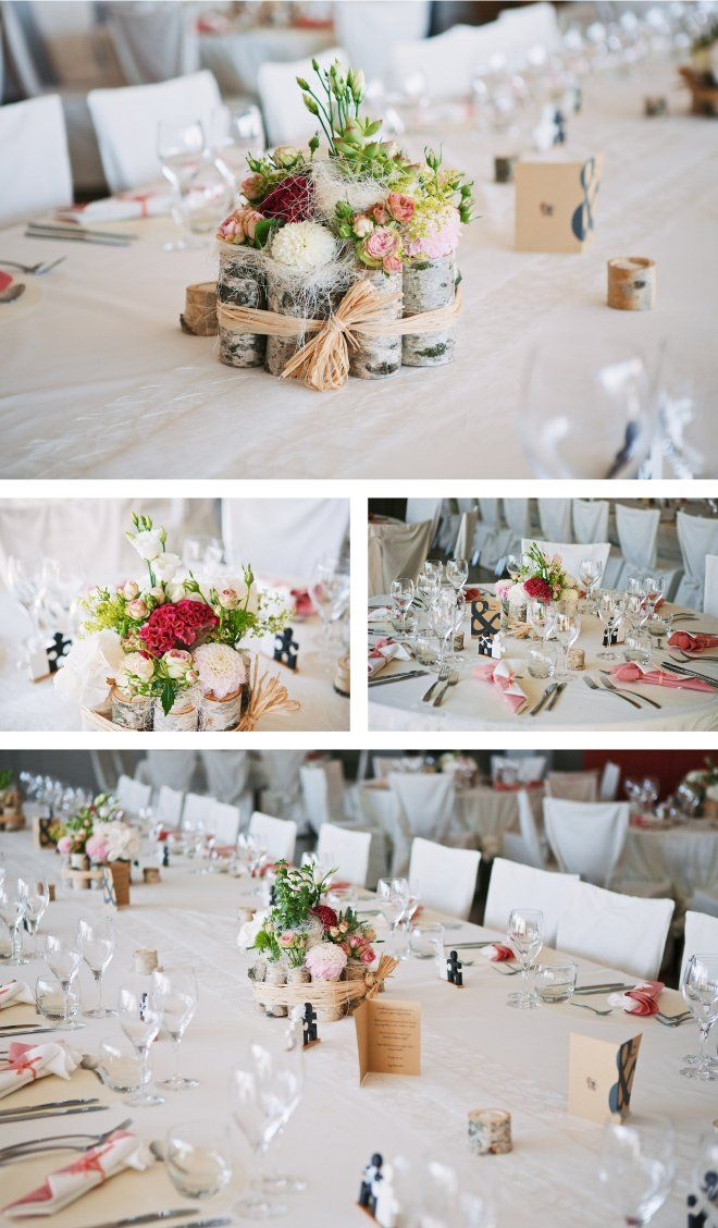 Natural Wedding Decor {Décoration de mariage nature} Raphael Melka Photography