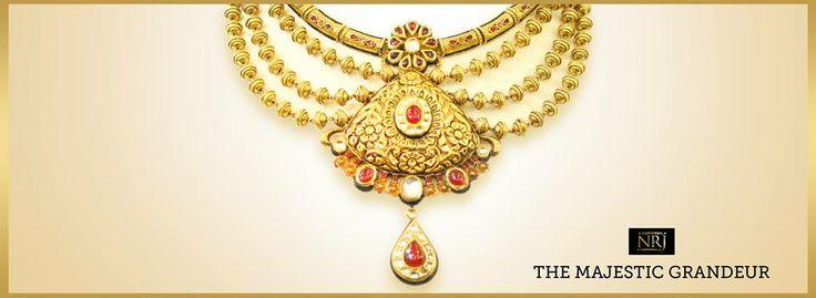 Narangs Raj Jewellers has a great medley of designs in jewellery.