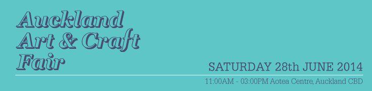 Auckland Art & Craft Fair: Hunting Letter Flags Artist Blog, November 2013