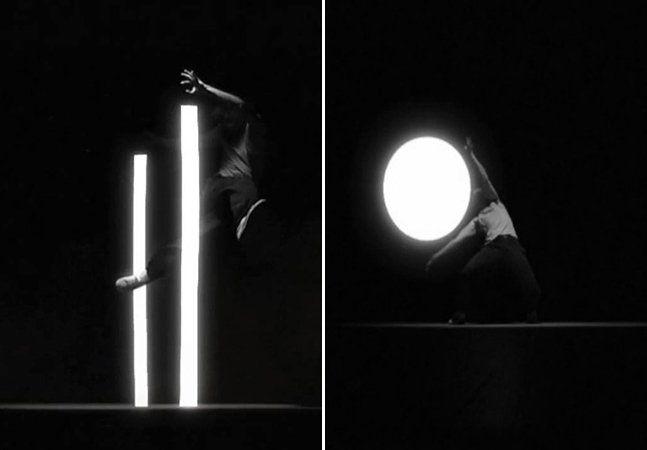 Uma performance que junta uma coreografia trabalhada detalhadamente com um envolvente jogo de luz e sombras, fechando com uma trilha sonora fantástica. A produção é de Marc-Antoine Locatelli e apresenta o bailarino Lucas Boirat lutando contra formas geométricas iluminadas, que vão se transformando com a sua ação. O movimento do corpo humano é mesclado com a tecnologia pra criar o efeito que você vê no vídeo, intitulado de Nuance, e nas fotos animadas abaixo.Nuance from Marc-Antoine…