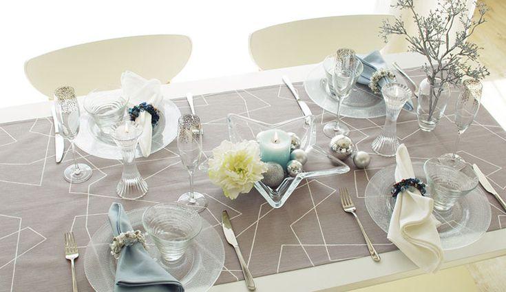 北欧スタイル クリスマスの準備を始めよう! テーブルクロスの専門店 テーブルレシピ