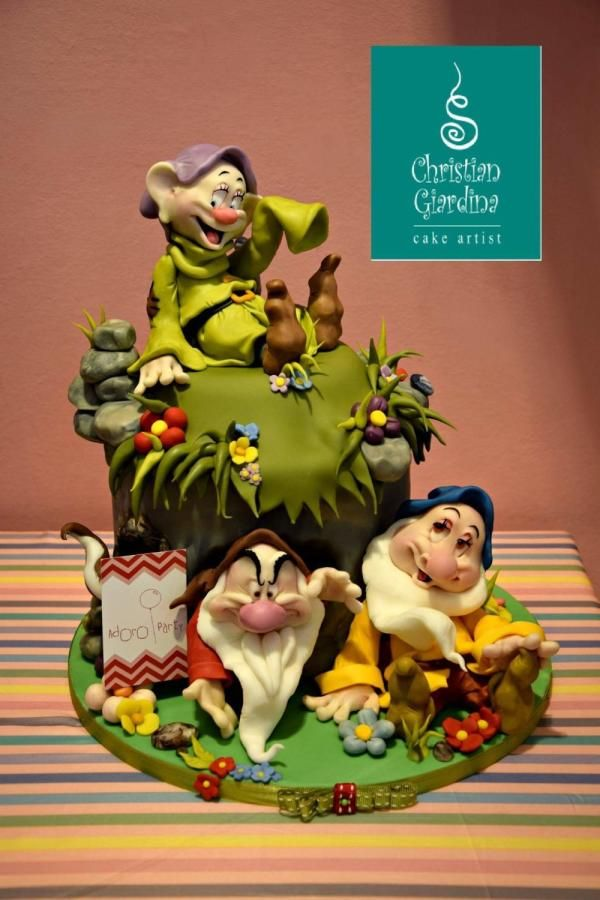 """Hello folks!!"" - Cake by Christian Giardina"