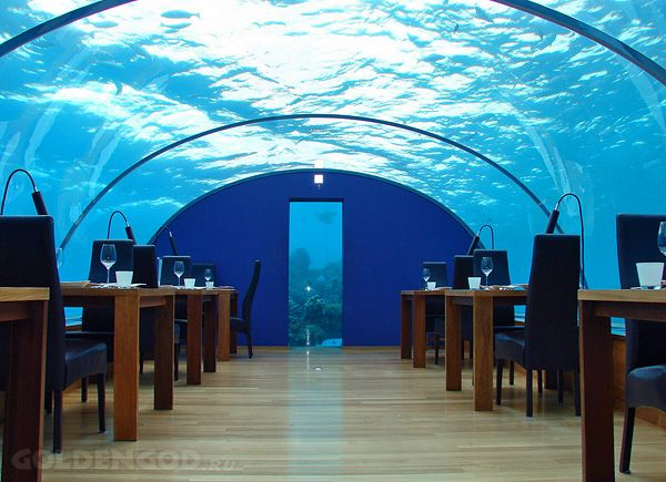 Подводный отель в Дубае - Hydropolis Undersea Resort