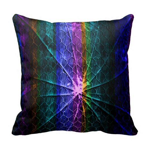 Crack in Fabric American MoJo Pillow
