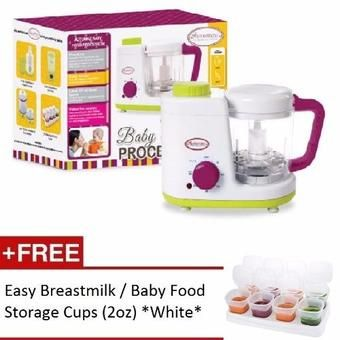 Buy Autumnz - 2-in-1 Baby Food Processor (Steam & Blend) *FREE 8pc of 2oz Baby Food Storage Cups* online at Lazada. Discount prices and promotional sale on all. Free Shipping.