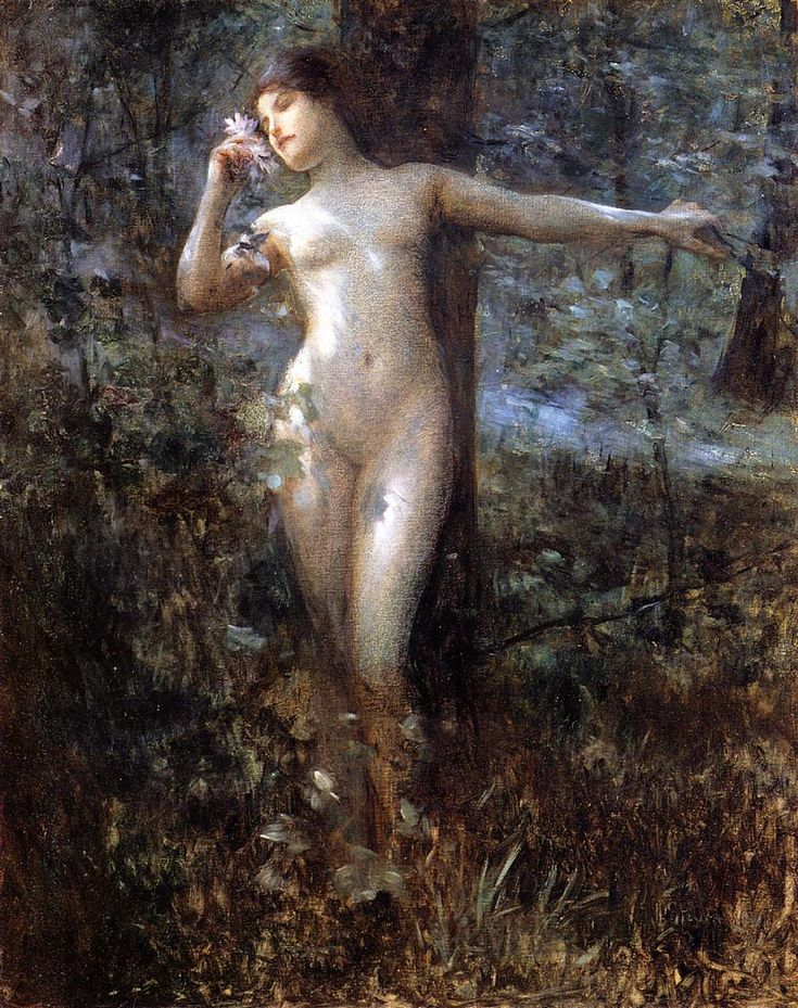Nude In Forrest 77