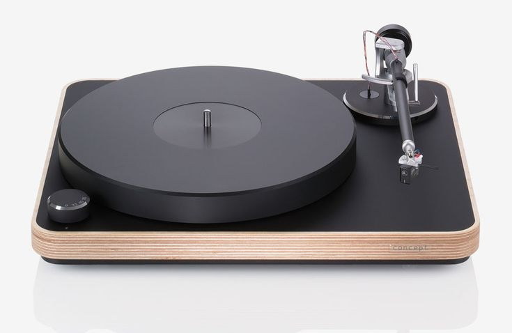 Audiophile Augenweide: Clearaudio Concept Wood
