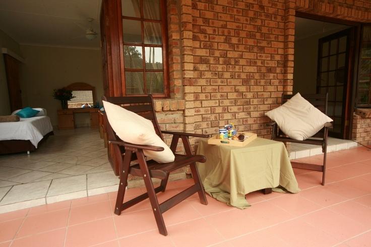 Coffee, croissants & muffins on the veranda http://wikivillage.co.za/marlin-lodge-st-lucia
