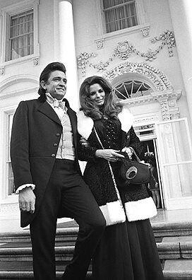 Johnny Cash snd June Carter Cash