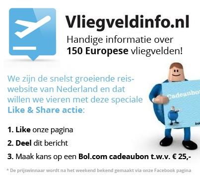 Like & Share Facebook actie http://www.vliegveldinfo.nl