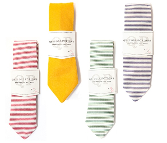 Love these colorful ties
