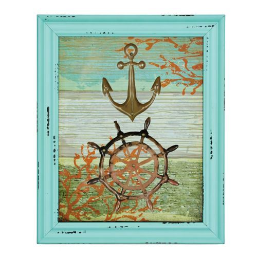 Jeweled Nautical Framed Art Print | Kirklands