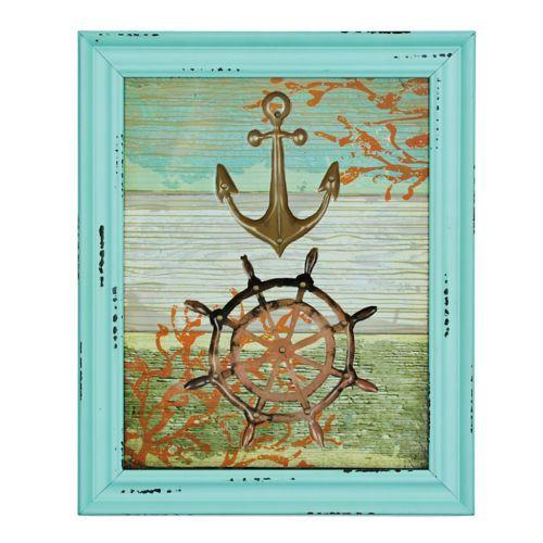 Jeweled Nautical Framed Art Print | Kirklands