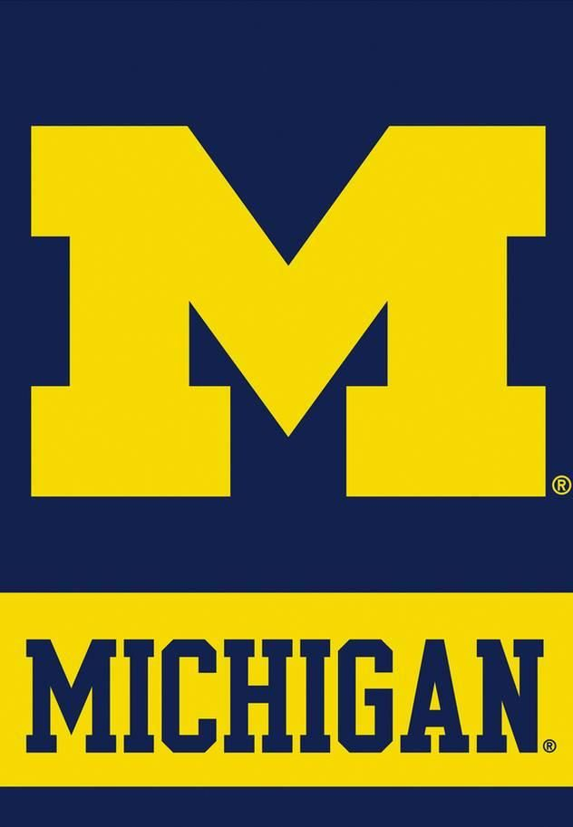 NCAA Michigan Wolverines 2-Sided House Banner Sports Flag