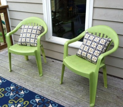 Plastic Patio Chairs Update