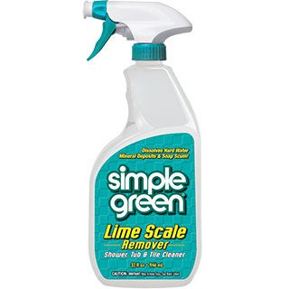 Simple Green® Lime Scale Remover - Removes lime scale, calcium, soap scum, and hard water stains without harmful acids! #SimpleGreen