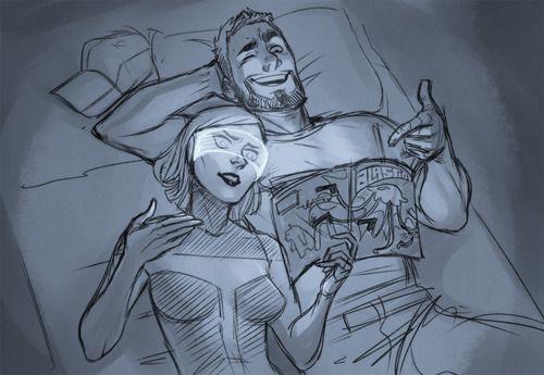 EDI and Joker Mass Effect 3