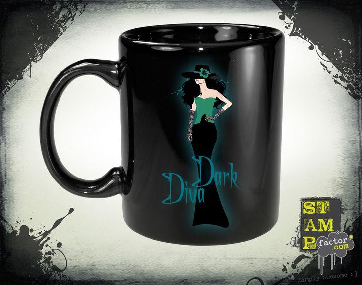 Dark Diva (Version 02) 2014 Collection - © stampfactor.com *MUG PREVIEW*