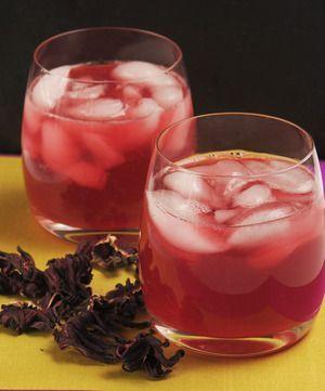 Agua de jamaica con jengibre y limón   Cocina y Comparte   Recetas