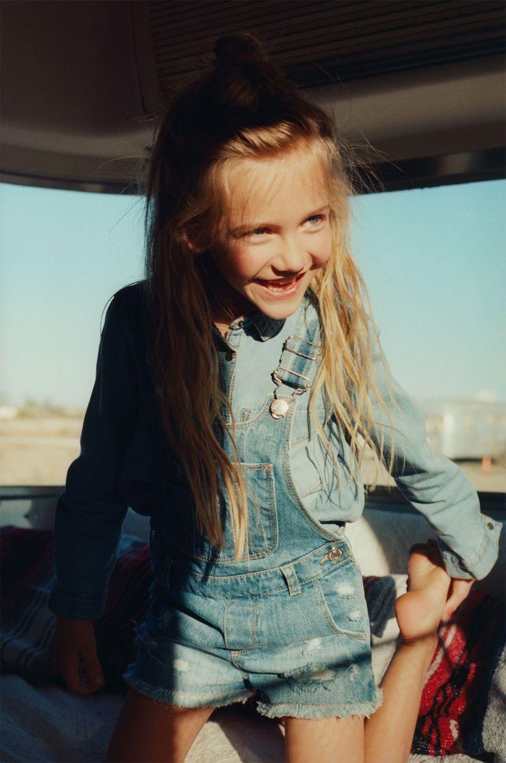 Zara baby hair accessories - Zara Zaraeditorial Kids Summer Camp Girl