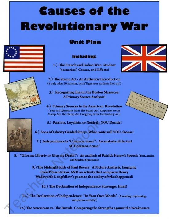 an analysis of the causes of the american revolution The underline cause of the revolution was the increasing demand of independence, and autonomy the colonies had developed over hundred years they had settled in the new the revolutionaries stand for right to land d the develop of a unique american culture that revolves among colonists.
