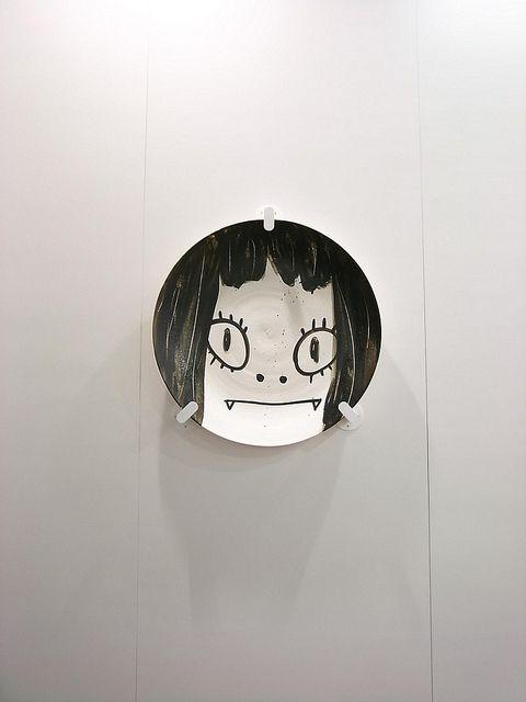 Artwork by 奈良美智 なら よしとも Nara Yoshitomo