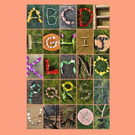 Alphabet In Nature Letter Photography Alphabet Photography Alphabet Art Photography