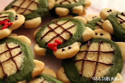 cute turtle cookies! <3 #tutorial #DIY #recipe #dessert #kids