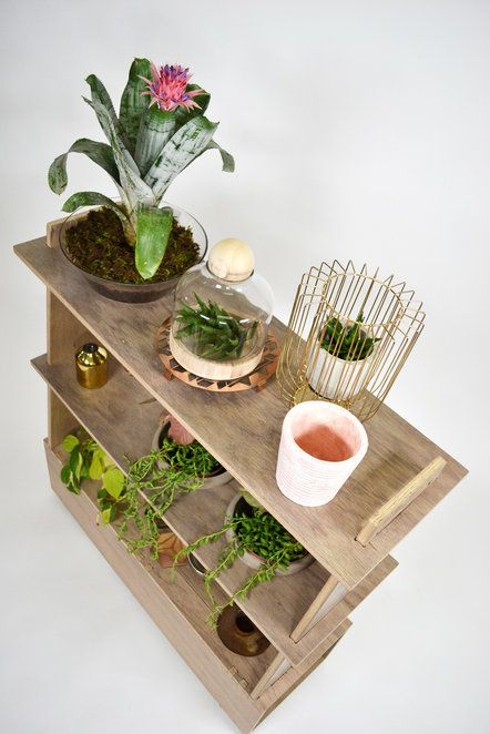 Planter Shelf by Leg Studios