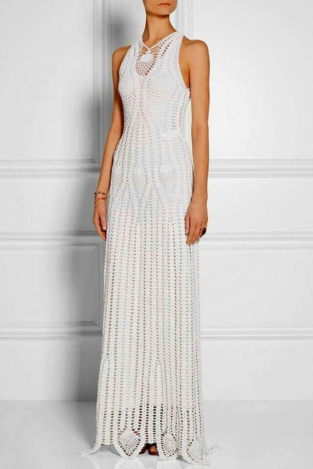 292 best dresses crochet images on Pinterest   Crochet dresses ...