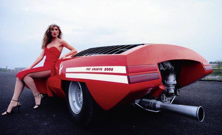 fiat abarth 2000 coupé speciale - pininfarina - 1968