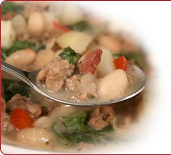 Quick Sausage Toscana Soup - Recipes