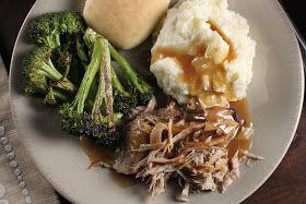 Bo's Bowl: Trisha Yearwood's Crock Pot Pork Loin make it healthier with no soy or cornstarch
