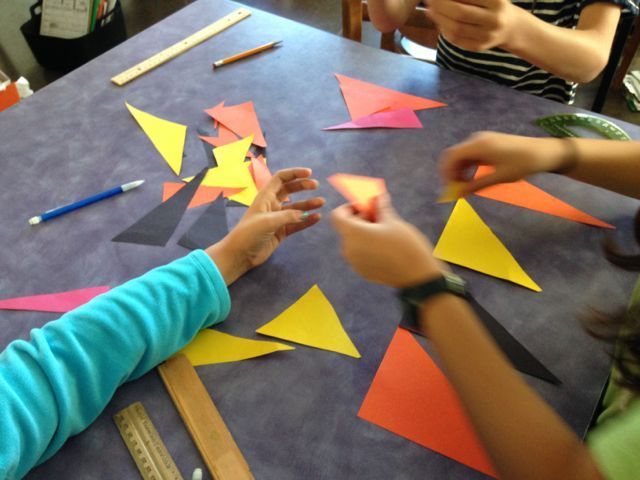 Quick and Easy Triangle Sort - A fun group activity to introduce your class to different types of triangles.