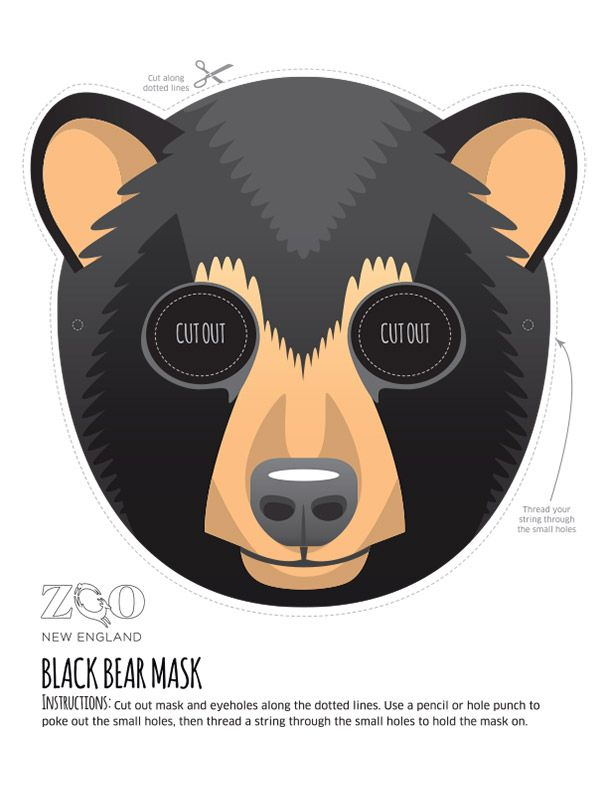1000 images about wild kratts or animal party on for Sloth mask template
