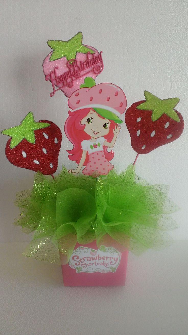 Strawberry Shortcake Centerpiece